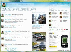 Windows Live Messenger 2011 screen1