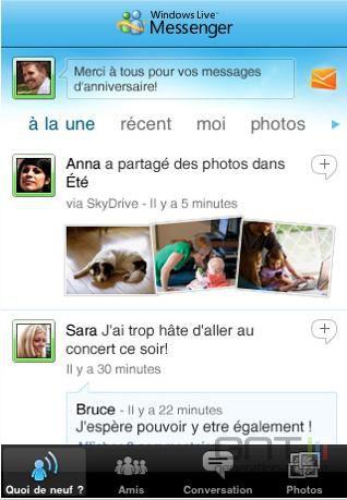 Windows Live Messenger iPhone 01