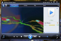 Windows Media Player 11 screen2