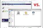 Windows Vista beta 1 vs Mac OS Tiger 10.4