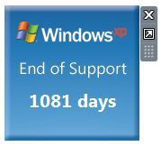 Windows-XP-gadget-fin-support