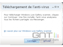 WLM - Windows Live Safety Scanner 2