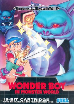 Wonder Boy In Monster World   Pochette
