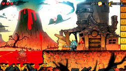 Wonder Boy The Dragon Trap remake - 2.