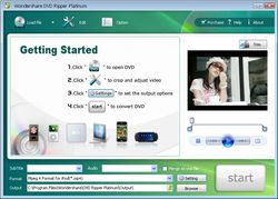 Wondershare DVD Ripper Platinum screen 2