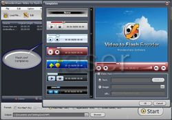 Wondershare Video to Flash Converter Pro screen 1