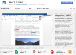Word online chrome