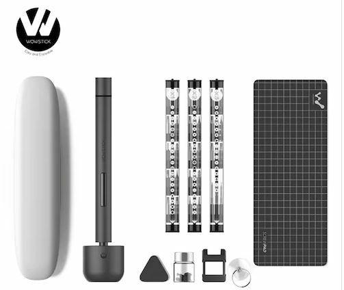 Un tournevis électrique Xiaomi 64 en 1 avec tous ses accessoires à moins de 35 €