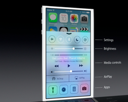 WWDC Apple iOS 7 Control Center 02