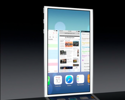 WWDC Apple iOS 7 multitasking 2