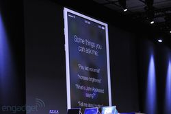 WWDC Apple iOS 7 Siri