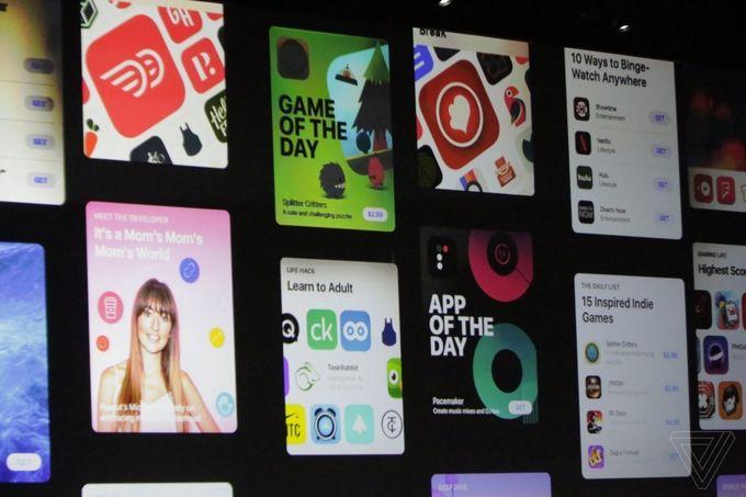 WWDC iOS 11 App Store