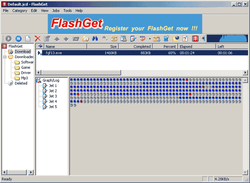 wxFlashget screen2