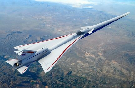 X-59 QueSST.