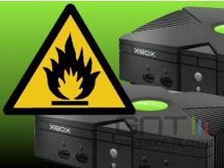 Xbox fire hazard small