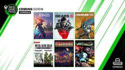 Xbox Game Pass septembre