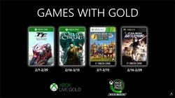Xbox Games with Gold fevrier 2020