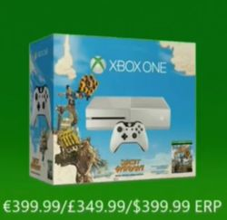 Xbox One blanche pack Sunset Overdrive
