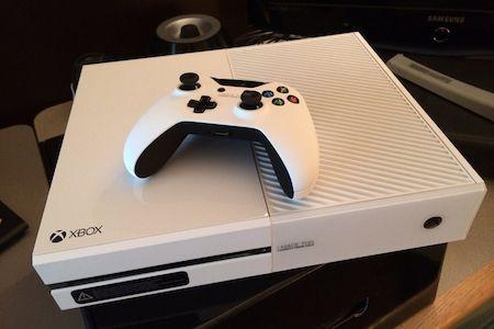 Xbox One blanche - vignette