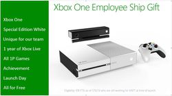 Xbox One blanche