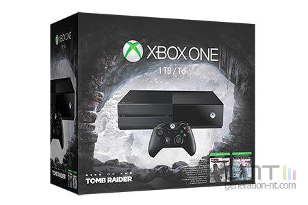 Xbox One pack Tomb Raider