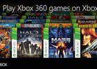 Xbox One retrocompatibilite Xbox 360