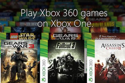 Xbox One retrocompatible Xbox 360