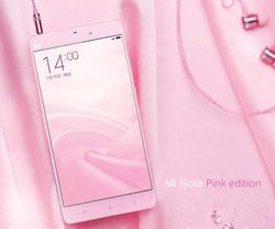 Xiaom Mi Note Pink Edition