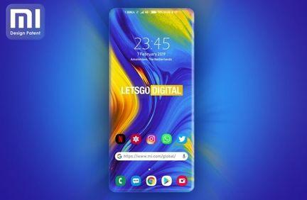 Xiaomi concept ecran