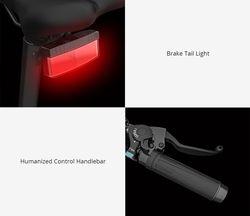 Xiaomi Himo C20 - Vélo phare arrière et accélérateur
