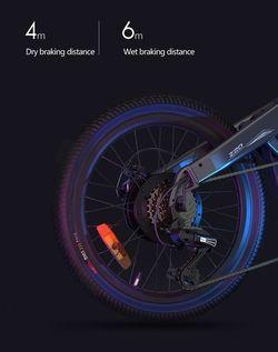 Xiaomi Himo Z20 - Vélo roue arrière freinage