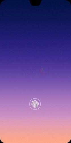 Xiaomi lecteur empreintes sous l'ecran