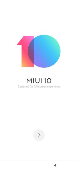 Xiaomi Mi 9 MIUI 10