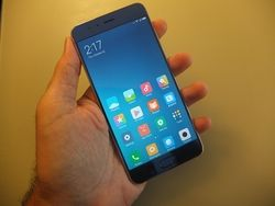 Xiaomi Mi Note 3 accueil
