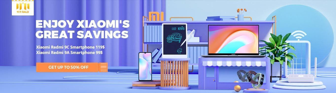 Tous les produits Xiaomi en très fortes promotions pour le pré Singles' Day