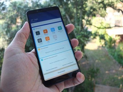 Xiaomi Redmi Note 5 accueil 03