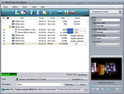 Xilisoft Blu-ray Ripper screen