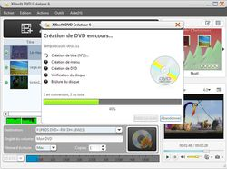 Xilisoft DVD Creator screen