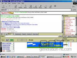 Yahoo chat room small