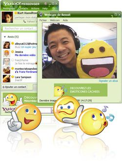 Yahoo! Messenger screen 1