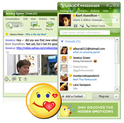 Yahoo! Messenger screen 2