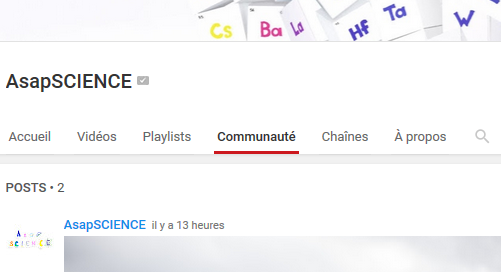 YouTube-Communaute