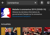 Coronavirus et démonétisation des vidéos : YouTube fait évoluer sa position