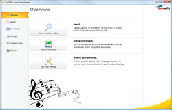 YouTube Song Downloader screen1