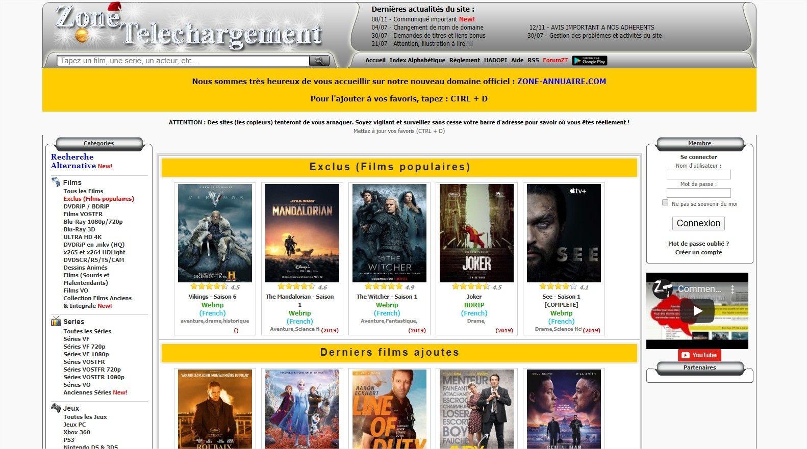 Piratage : Zone-annuaire s'offre un second site en .Net