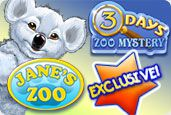Zoo Super Pack Jane's Zoo et Three Days Zoo Mystery