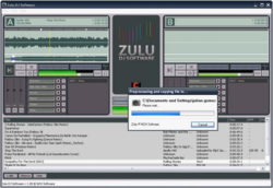 Zulu DJ software screen 1